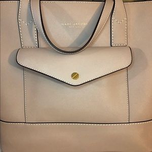 Marc Jacobs Safiano Leather Tote Bag